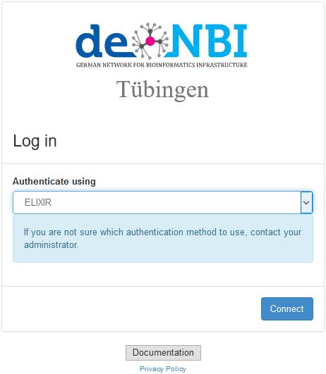 Access de NBI Virtual Machines from Windows 10 - de NBI Cloud Wiki